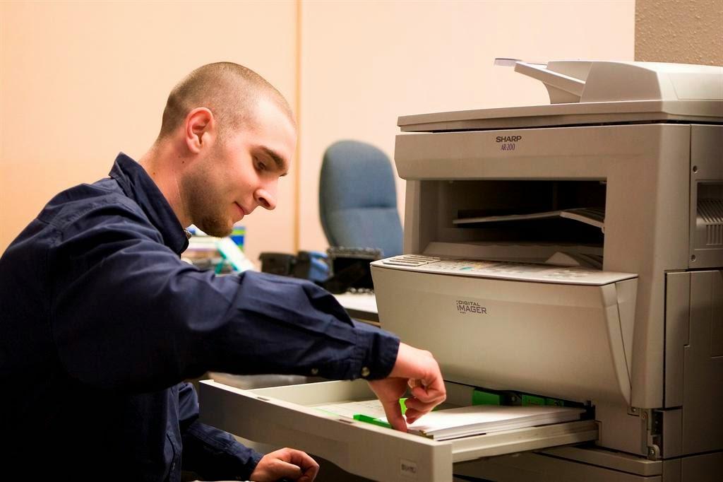 khắc phục khi bị kẹt giấy máy in